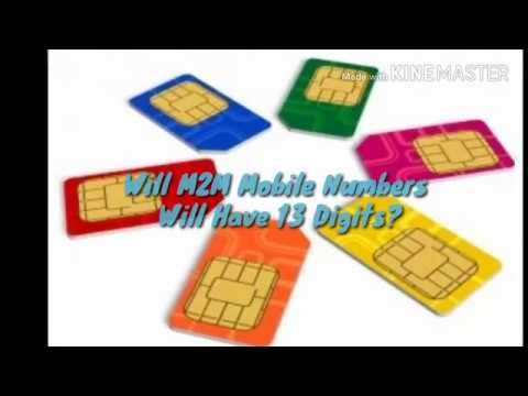 M2m Communication Changed The Phone Numbers