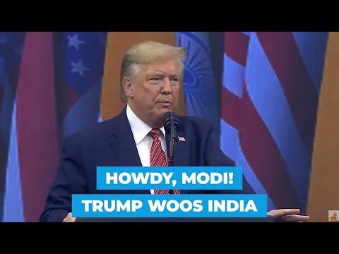 Howdy Modi: Donald Trump says India never had better friend in White House