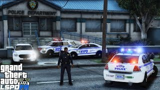 GTA 5 LSPDFR Police Mod 461 | New NYPD Pack & New York City Police Stations | Pursuits & Shootouts