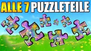 Woche 8 - Puzzleteile unter Brücken und in Höhlen | Fortnite Season 8 Deutsch