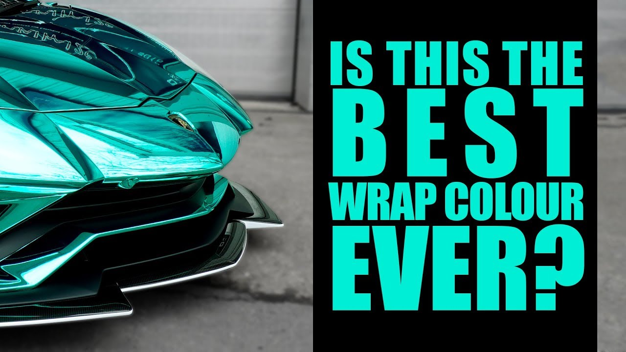 Chrome Car Wrap >> Yianni's Lambo Wrapped in New Hexis Chrome Colour - YouTube