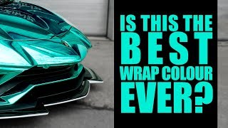 One of Yiannimize's most viewed videos: Yianni's Lambo Wrapped in New Hexis Chrome Colour