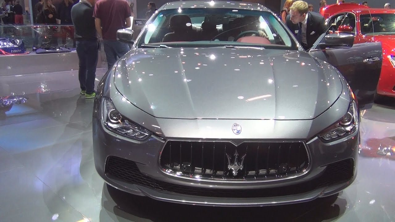 2015 Maserati Quattroporte >> Maserati Ghibli S Q4 Grigio Maratea (2016) Exterior and Interior in 3D - YouTube