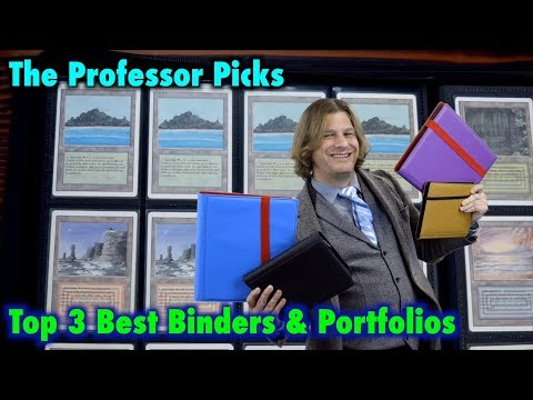 Top 3 Best Binders And Portfolios For Magic: The Gathering, Pokemon, And Other Card Games