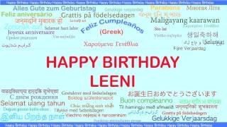 Leeni   Languages Idiomas - Happy Birthday