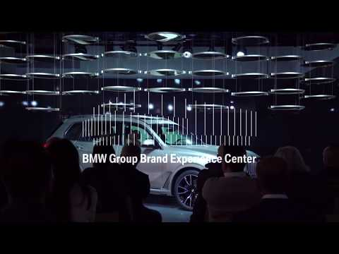 BMW Brand Experience Center - 36 mirrors real time control