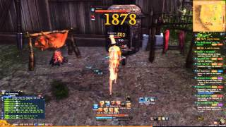 [Blade & Soul] Destroyer animation cancel dps cycle
