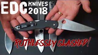 2018 Knife Rotation - Ruthlessly Slashed!