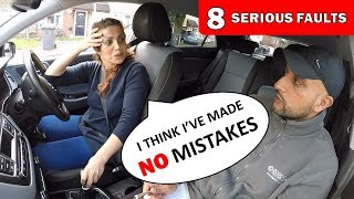 Fails Driving Test For STOPPING At GREEN Light But Thinks She Has NO MISTAKES