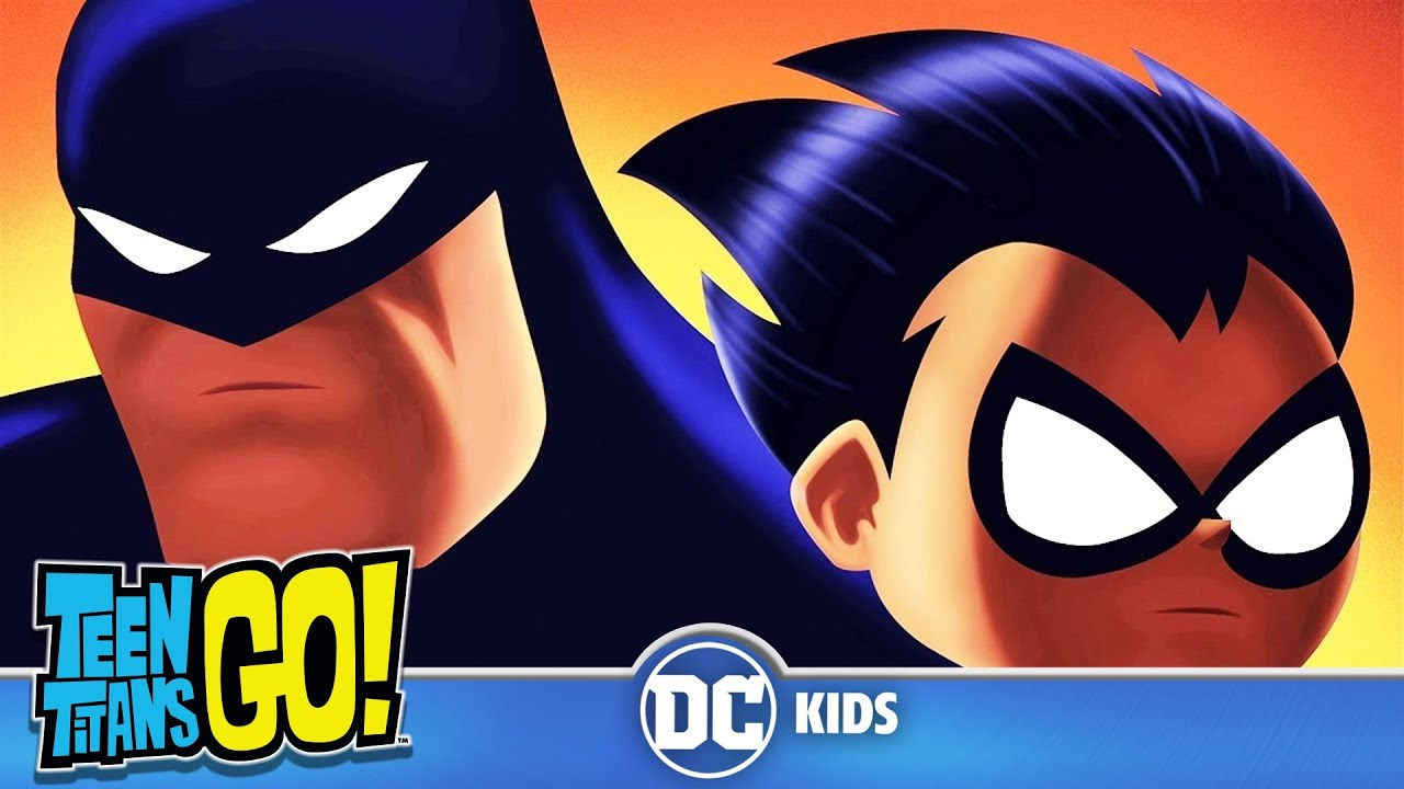 Teen titans go hes the batman dc kids youtube hes the batman dc kids voltagebd