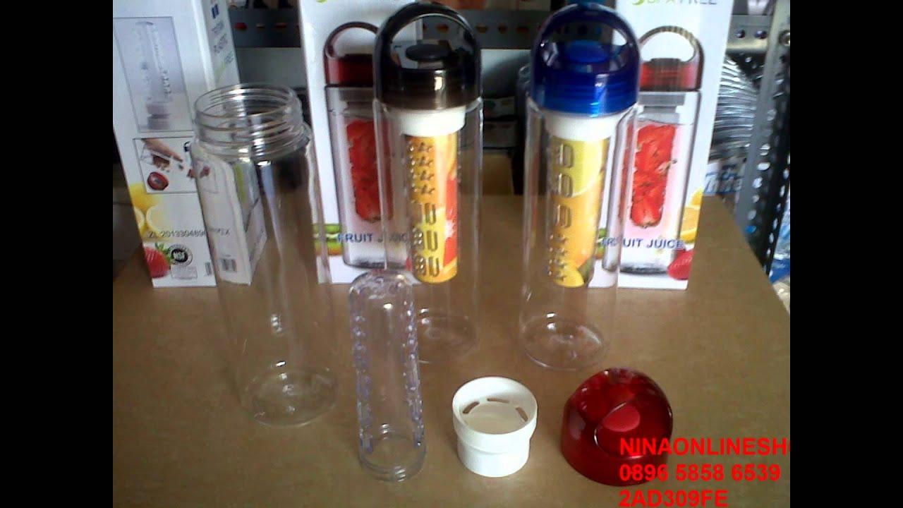Tritan Bottle Infused Fruit Water 082216317298 Youtube Botol Air Minum Infuse Citrus