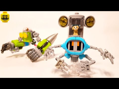 LEGO Puppy's Alien Robot Explorer