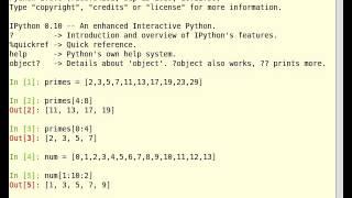 Python Tutorial on Manipulating Lists [English]