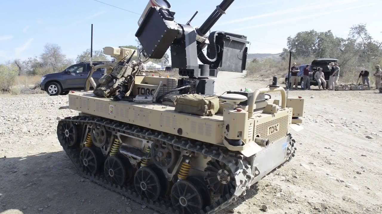 - Marines Test New Combat Robots - Testing Several ...