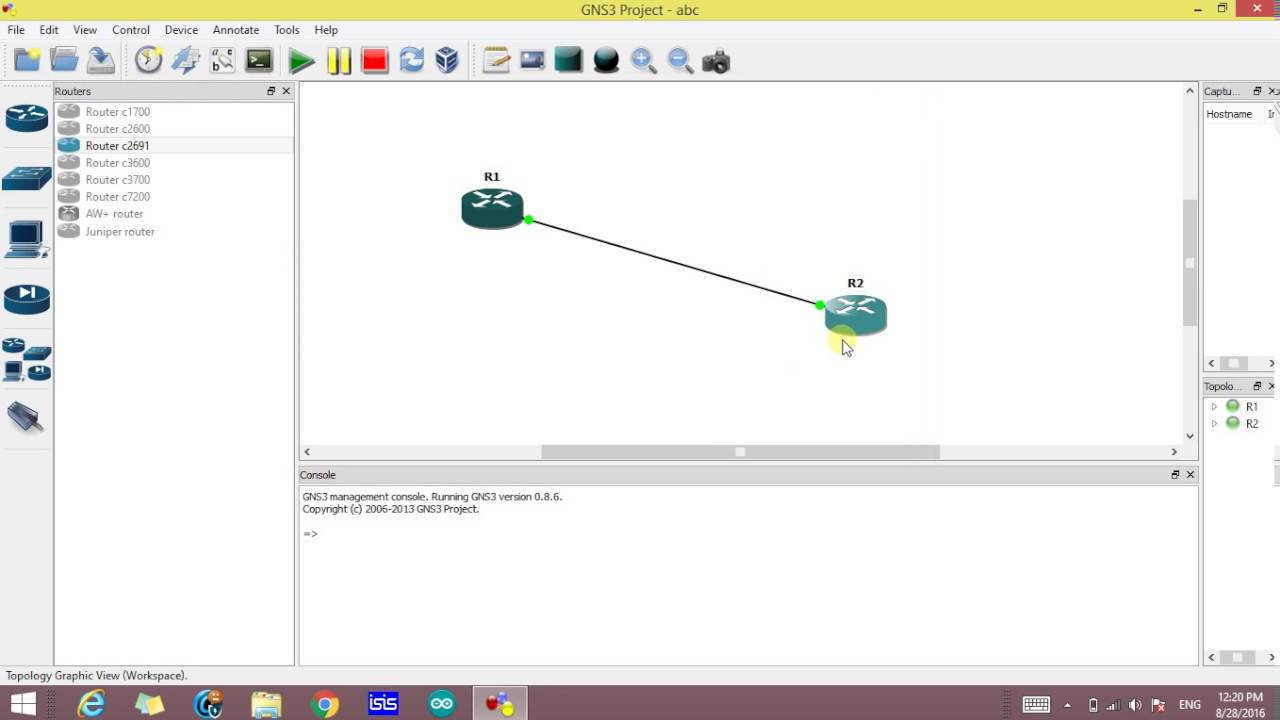 How to use GNS3 Network Simulator