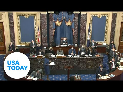 Day Two of Trump's second impeachment trial: New riot footage | USA TODAY