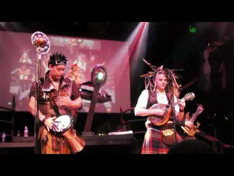 Abney Park (Steampunk), Under the Radar, Live Concert, San Francisco, Burton's Wonderland Ball
