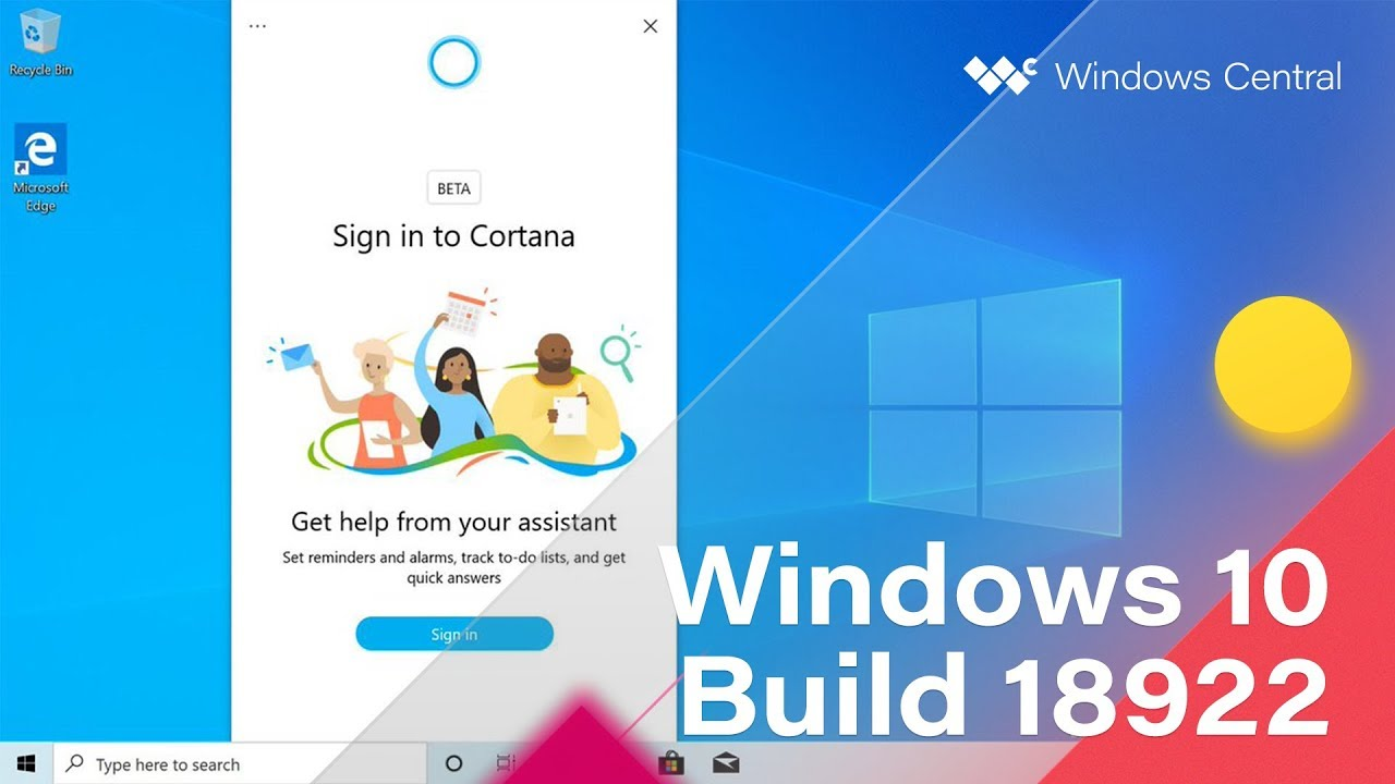 New Cortana experience for Windows 10 shows up in latest