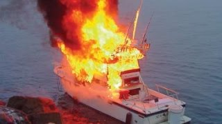 Boat Fire & Fires