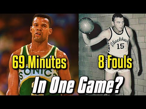 4 Unbreakable NBA Records That You've NEVER Heard Of