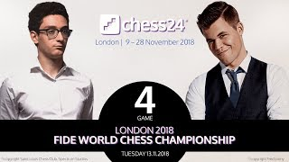 Carlsen-Caruana Game 4 - 2018 FIDE World Chess Championship thumbnail