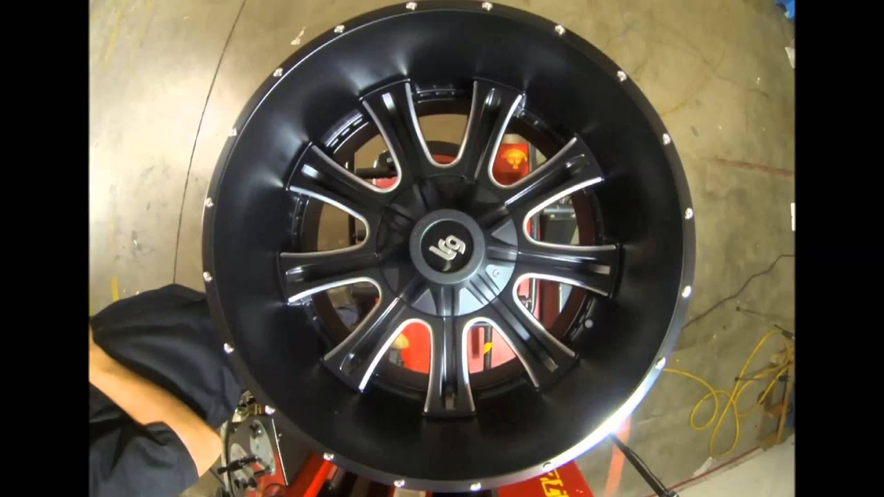 Rims And Tires Canada >> LRG Wheels 105 Black Machined - YouTube