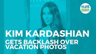 Kim Kardashian Gets Savagely Dragged Over Her Throwback Instagram Post | Elvis Duran Show