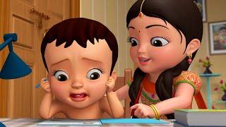 Chinnu and Chitti - అక్క తమ్ముడు పాట | Telugu Rhymes for Children | Infobells