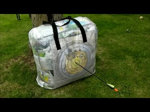 How To Make An Archery Target From Ikea Dimpa Storage Bag