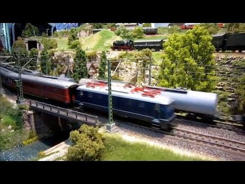 Modellbahn-Messefilm Leipzig 2012 -- Leipzig Trade Fair