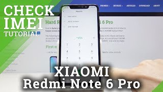 How to Check Serial Number in Xiaomi Redmi Note 6 Pro – Locate IMEI Number