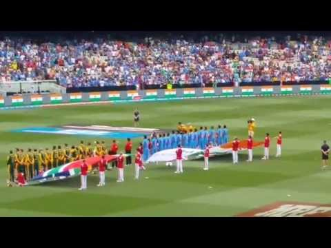 Indian National Anthem At Melbourne Cricket Ground