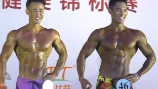 men s physique over 172cm final 2016 asia bodybuilding and fitness championship