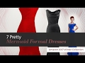 7 Pretty Mermaid Formal Dresses Amazon 2017 Winter Collection