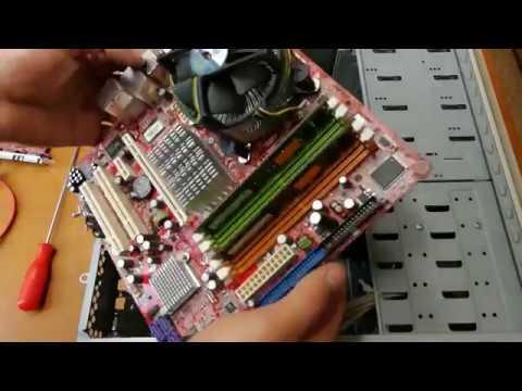 Ремонт компьютера после чистки