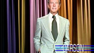 Johnny Carson talks about everyone's plans for the Fourth of July