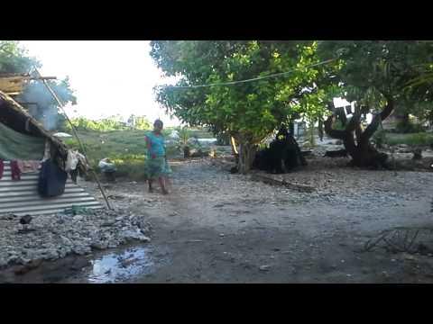 Kiribati flood in 2014