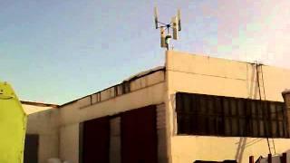"""Vertikale Kleinwindkraftanlagen (VAWT) """"STRIBOG"""" 30,0(6) und """"STRIBOG"""" 0,1(4)"""