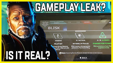 Apex Legends Blisk Gameplay Leak With Titan And Wall-Running Ability - Is It Real Or A Forge?