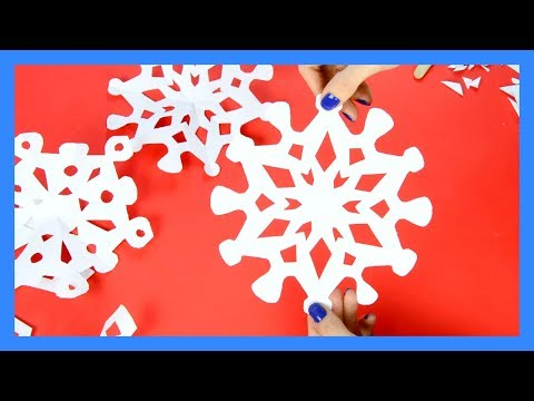 How To Make Paper Snowflakes - 20 Printable Templates And Designs YT VIDEO