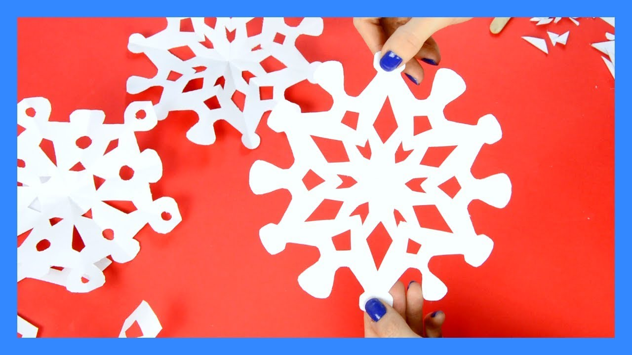 How To Make Paper Snowflakes 20 Printable Templates And Designs Yt