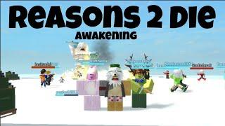 Roblox Reasons 2 Die Awakening Gameplay