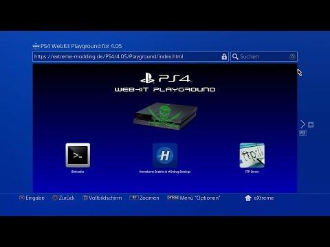 PS4 5.50 WEBKIT STAGE 3! AKA Jailbreak in Development!