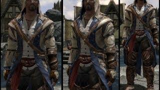 Обзор мода Skyrim#4 Assassins Creed 3 Conor+Пасхалка