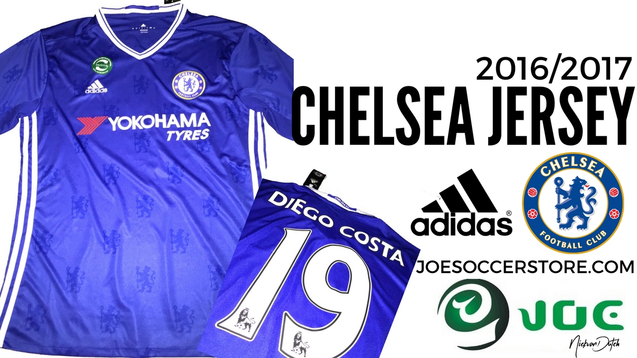 the best attitude cc484 c22cc Chelsea FC Jersey 2016/2017 Joessoccerstore Unboxing review Adidas Football  Shirt