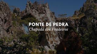 PONTE DE PEDRA - CHAPADA DOS VEADEIROS