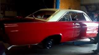 1965 Ford #Galaxie: 390 test run fully installed