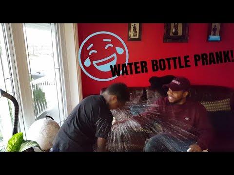 WATER BOTTLE PRANK!