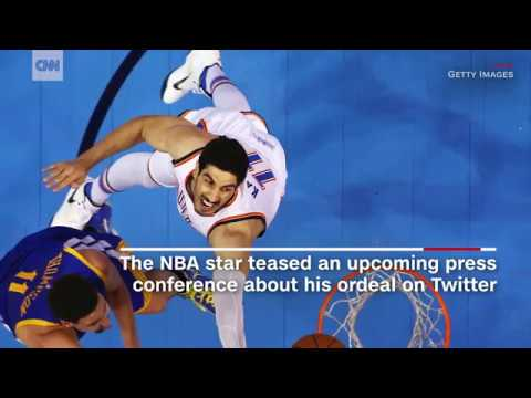 NBA star says he was detained overseas