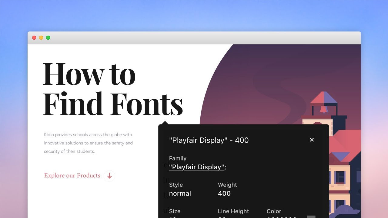 5 ways to Identify Fonts in a Web Page 🔎